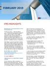 IFRS Highlights - February 2019