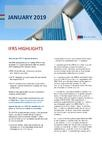 IFRS Highlights - January 2019